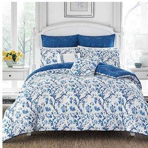 Laura Ashley Elise 7-Pc King Comforter Set